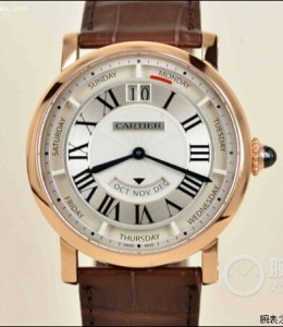 Rotonde de Cartier Replica Watch face